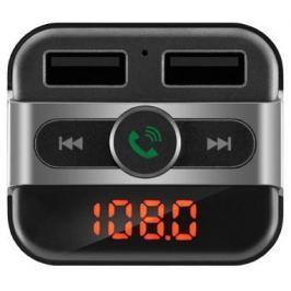 FM трансмиттер Neoline Wave FM microSD BT USB пульт ДУ черный