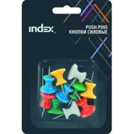 Кнопки силовые Index IJP2026 10 шт 26 мм разноцветный