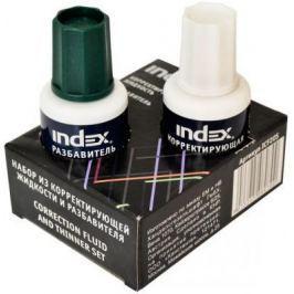 Корректирующая жидкость Index ICF20S 20 мл + разбавитель 20 мл