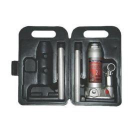 Домкрат MATRIX 50750 бутылочный 2т h подъема 181–345мм в пласт. кейсе
