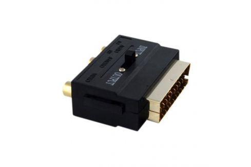 Переходник Onetech VAS0101 SCART - 3xRCA & S-Video Переходник