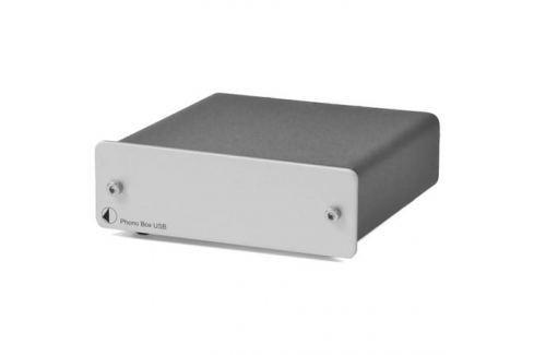 Фонокорректор Pro-Ject Phono Box USB Silver Фонокорректор