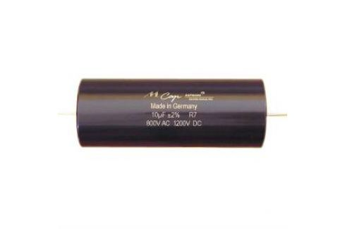 Конденсатор Mundorf MKP MCap Supreme silver/gold/oil 1000 VDC 10 uF Конденсатор