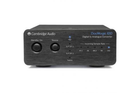 Внешний ЦАП Cambridge Audio DacMagic 100 Black Внешний ЦАП