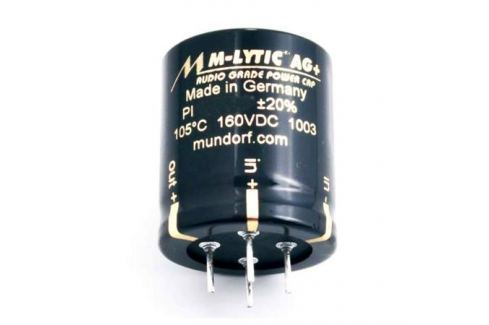 Конденсатор Mundorf M-Lytic AG+ GO 500 VDC 680 uF Конденсатор