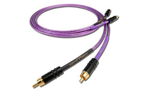 Кабель межблочный аналоговый RCA Nordost Purple Flare 0.6 m Кабель межблочный аналоговый RCA
