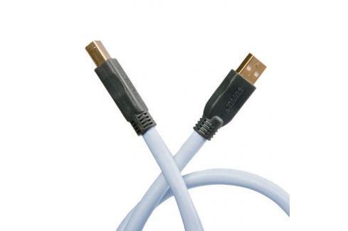 Кабель USB Supra USB 2.0 A-B 1 m Кабель USB