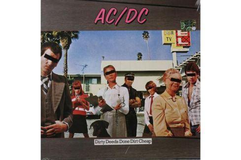 AC/DC AC/DC - Dirty Deeds Done Dirt Cheep Виниловая пластинка
