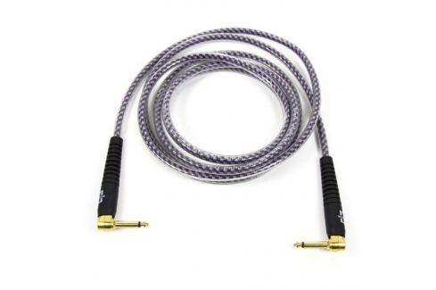 Кабель гитарный Analysis-Plus Pro Oval Studio G&H Plug Gold with OVERMOLD Plug 2 m (угловой/угловой) Кабель гитарный