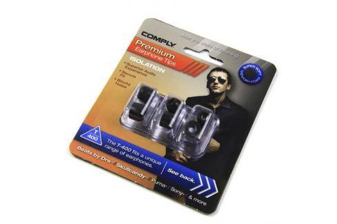 Амбушюры для наушников Comply T-400 M Black (3 пары) Амбушюры для наушников
