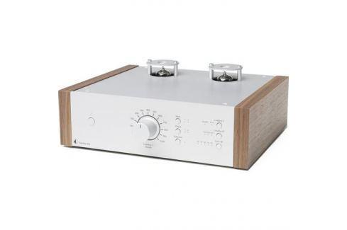 Ламповый фонокорректор Pro-Ject Tube Box DS2 Silver/Walnut Ламповый фонокорректор