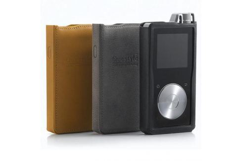 Чехол Questyle QP1R Leather Case Black Чехол