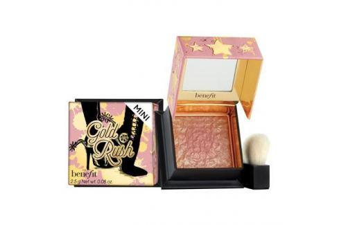 Benefit Gold Rush Румяна для лица медово-персиковые в мини-формате медово-персиковый Румяна