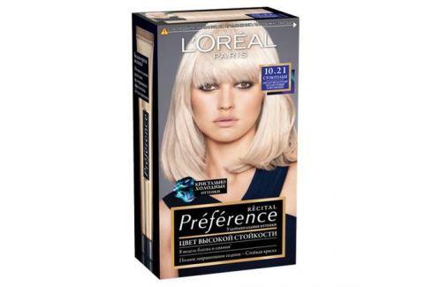 L'Oreal Paris Preference Краска для волос 5.21 глубокий светло-каштановый Окрашивание