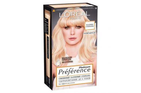 L'Oreal Paris Preference Platinum Краска для волос суперблонд осветление 6 тонов Окрашивание
