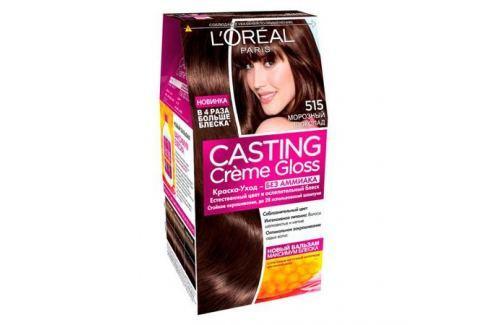 L'Oreal Paris Casting Creme Gloss Краска для волос без аммиака 400 каштан Окрашивание