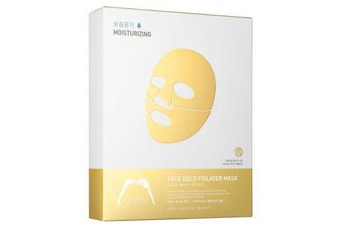 The Oozoo Золотая фольга 3х-слойные экспресс-маски с термоэффектом с аквапорином Золотая фольга 3х-слойные экспресс-маски с термоэффектом с аквапорином Уход женский