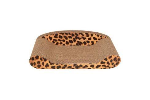 Когтеточка - лежак Triol CT06 из гофрокартона для кошек 51*23,5*13,5 см Лежанки, лежаки