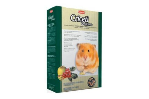 Корм Padovan Grand Mix Criceti для хомяков и мышей основной (400 гр) Крысы, мыши