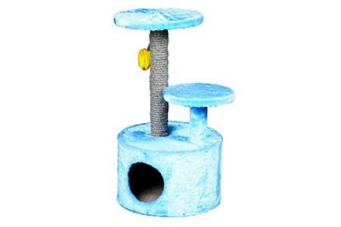 Домик RP8100с когтеточка 3-х уровневый круглый (сизаль) для кошки Домики с когтеточкой