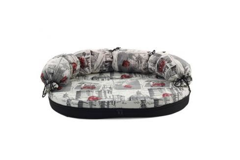 Лежанка Гамма Диван №3 для кошек и собак 134*100*8см Лежанки, лежаки