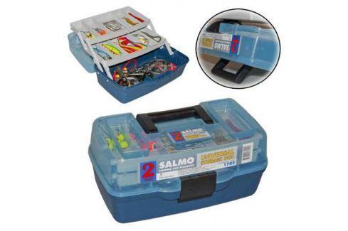 Ящик (Salmo) рыболовный пластиковый 2х-полочный 02 маленький Ящики