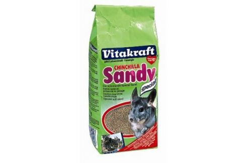 Песок Vitakraft для шиншилл 1кг Песок для шиншиллы