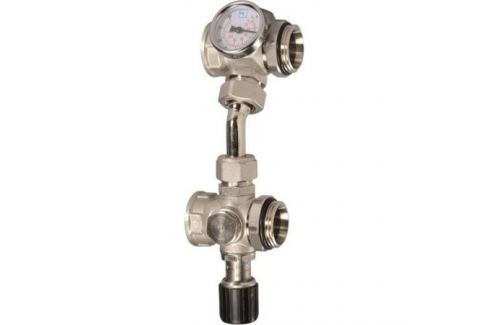 Luxor Vb 753 Вентиль байпасный для группы Gm1192 с термометром комплектующие для коллекторов