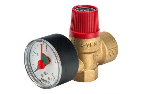 Watts Svm 25 -1/2 Предохранительный клапан с манометром 2.5 бар предохранительные клапаны