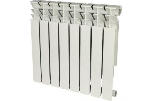 Rommer Plus 500 8 секций радиатор алюминиевый (Ral9016) алюминиевые секционные
