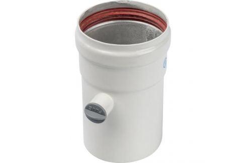 Stout Элемент дымохода Dn80 труба 125 мм п/м с ревизионным патрубком металлопластиковые