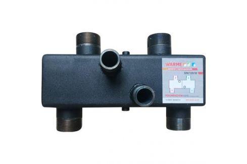 Гидравлический разделитель Warme Wgr80 с торцевыми отводами и резьбой гидрострелки