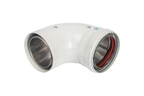 Stout элемент дымохода Dn 80 отвод 90° утепленный п/м металлопластиковые