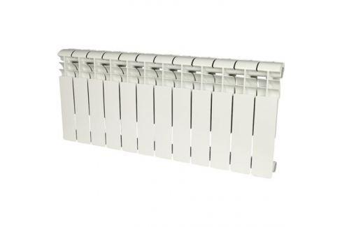 Rommer Profi 350 (Al350-80-80-080) 12 секций радиатор алюминиевый (Ral9016) алюминиевые секционные
