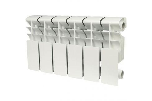 Rommer Plus 200 6 секций радиатор алюминиевый (Ral9016) алюминиевые секционные