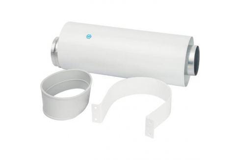 Stout Элемент дымохода Dn60/100 труба коаксиальная 250 мм п/м, уплотнения и хомут в комплекте металлопластиковые