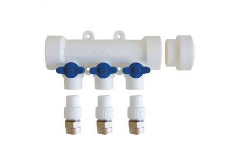 Kalde Коллектор с запорными кранами для полипропиленовых труб (6 выходов) сварной