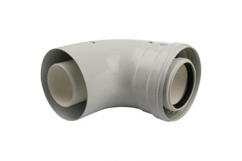 Stout Элемент дымохода конденсац. угол 90° Dn60/100 м/п с инспекционным окном Pp-Fe металлопластиковые
