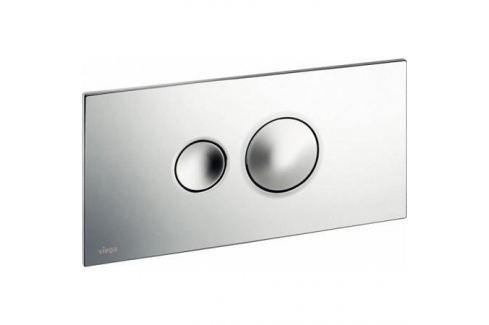 Visign for Style 10 кнопка смыва (пластик) для смывных бачков, хром инсталляции