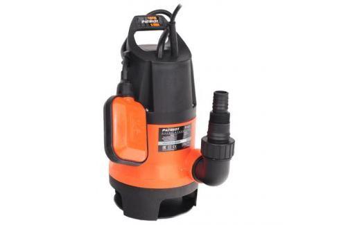 Насос дренажный PATRIOT F 850 д.грязн.воды корпуспластик,850 Вт Грязевые и дренажные насосы