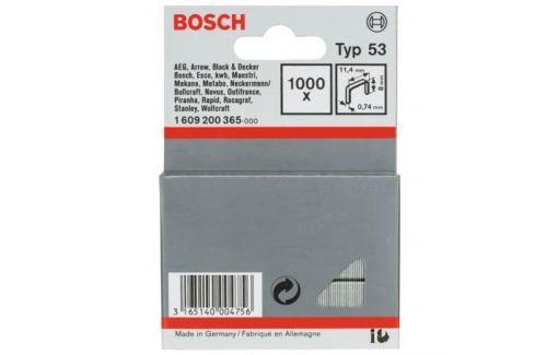 Скобы BOSCH тип 53, 8мм 1.609.200.365 Для электрических степлеров