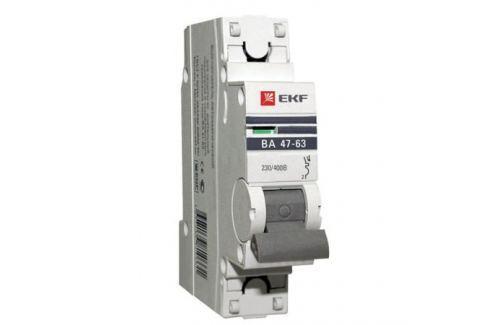 Выключатель EKF автомат.ВА 4763 20А 1П Автоматические выключатели