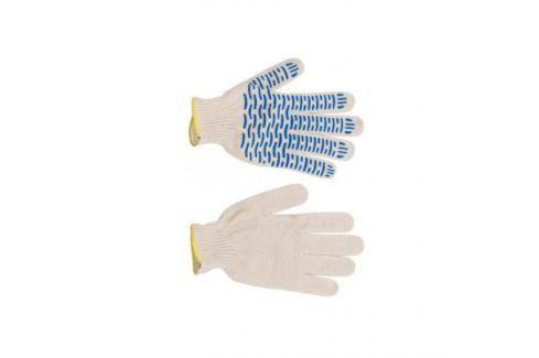 Перчатки трикотажные с ПВХ в 4 нити ВОЛНА Перчатки