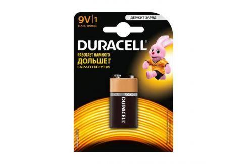 Элемент питания DURACELL Basic 9V 6LR61 (1шт) Элементы питания