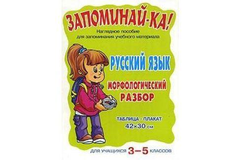 Запоминай-ка Русский язык Морфологический разбор 3-5 кл Письмо. Русский язык