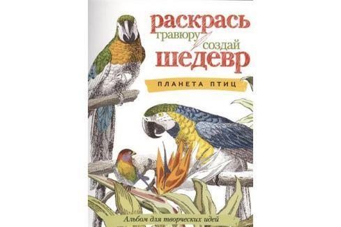 Корнилова О. (ред.) Планета птиц. Альбом для творческих идей Живопись и графика. Техники и приемы