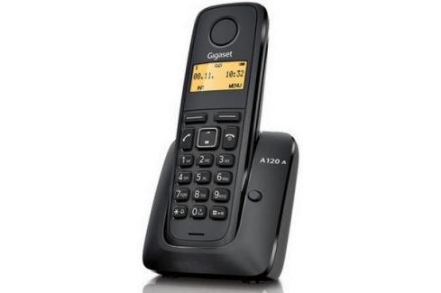 Телефон Gigaset А120A Black (Dect, автоответчик) DECT-телефоны