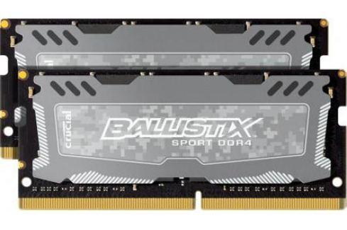 Оперативная память для ноутбуков SO-DDR4 16Gb (2x8Gb) PC4-19200 2400MHz DDR4 DIMM Crucial BLS2C8G4S240FSD Оперативная память для ноутбука