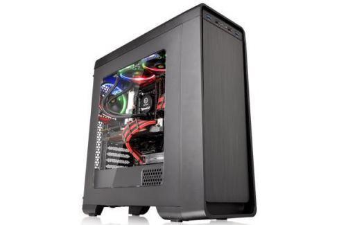 Корпус ATX Thermaltake Versa U21 Без БП чёрный CA-1G5-00M1WN-00 Корпуса для компьютеров
