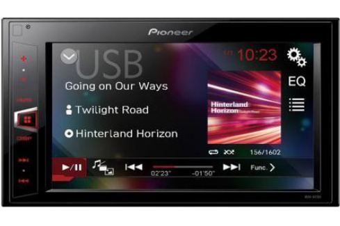 Автомагнитола Pioneer MVH-AV190 USB MP3 FM RDS 2DIN 4x50Вт черный Автомагнитолы